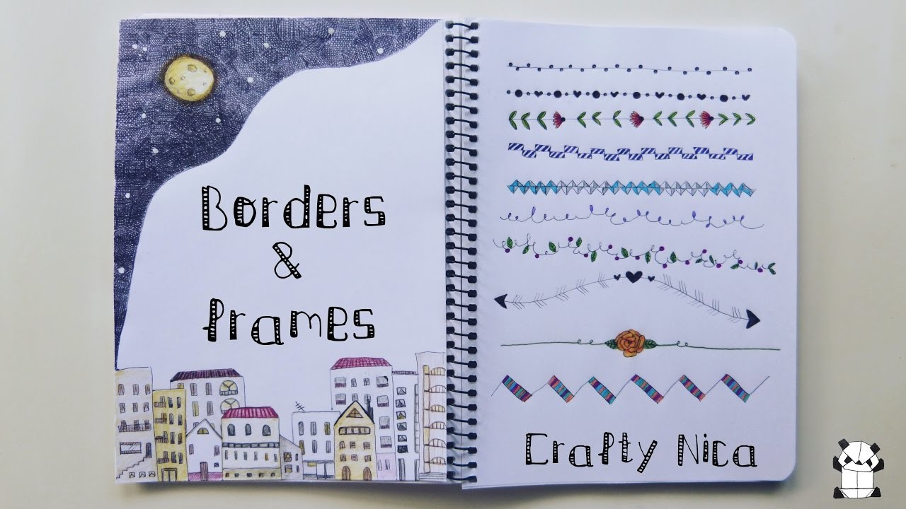 BORDERS And FRAMES DESIGNS 2 Borders For Cards School Projects Planner Decoration Ideas