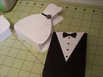 BRIDE and GROOM  FAVOR BOXES Part 1