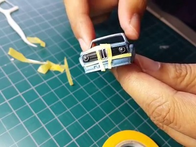 Diecast Custom How to Touch up Detailing ep.1