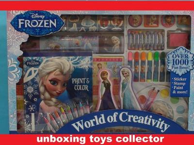Disney Frozen World of Creativity FunToys Over 1,000 Fun Items Frozen O Mundo da Criatividade