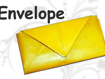 DIY crafts - Easy origami envelope tutorial. DIY beauty and easy