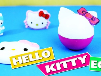 DIY | EOS Hello Kitty Lip Balm - In 1 Minute - simplekidscrafts
