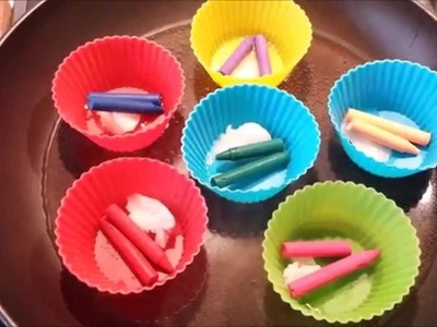 DIY: LIPSTICK OUT OF CRAYONS. Super easy and low budget!