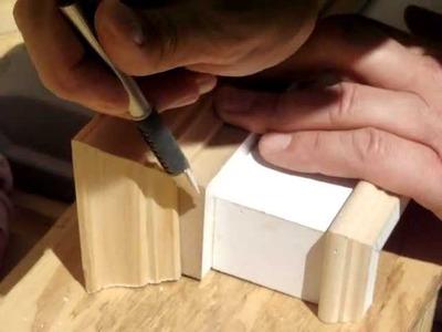 DIY Window Valalnce Box Part 5: Cut.Install Crown
