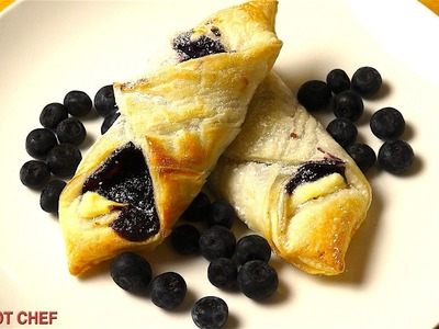 Easy Blueberry Pastries | One Pot Chef