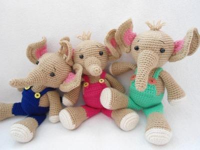 Elephant crochet (how to sew)