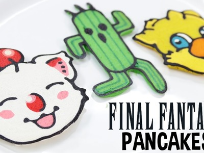 FINAL FANTASY PANCAKES - NERDY NUMMIES