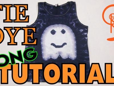 Ghost Tie Dye [Long Tutorial] #67