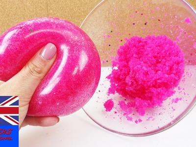 Glibbi Antistress ball | Slime for the bathtub in an antistress ball| Experiment!