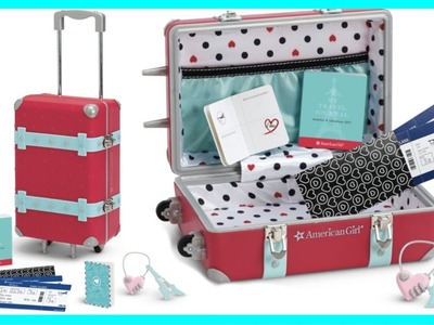 Grace's Travel Set | American Girl Doll Review