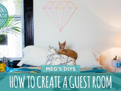 How To Create A Guest Room - HGTV Handmade