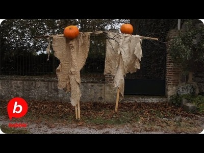 How to Make a Spooky Scarecrow | Celebrations with Design Mom | Babble