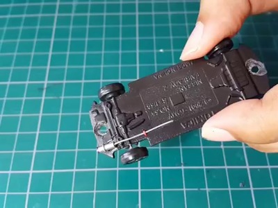 How to Making Exhaust 1.64 Diecast Car by Manga Garage