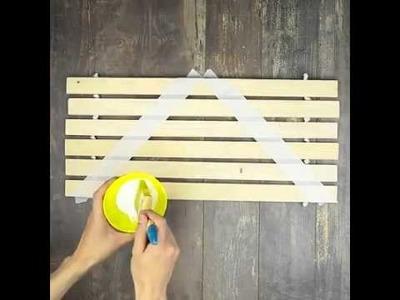 Make Your Own Wooden Doormat