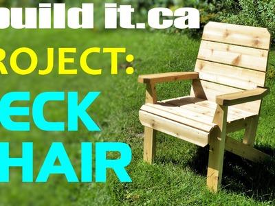 Making A Deck Chair