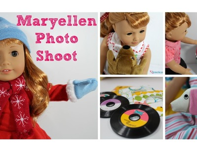 Maryellen Photo Shoot | American Girl Doll Pictures