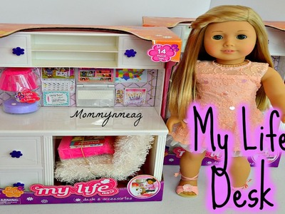 "My Life As ""DESK and Accessories"" ~ Perfect for American Girl Dolls"