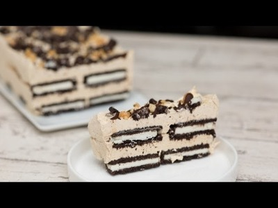 Oreo Peanut Butter Ice Box Cake - Recipe - Instructions Video