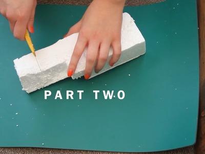 Part 2 - Making Rocks & Grouting | 3D Background Vivarium Project