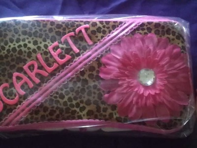 Personalized Wipe Case Cover