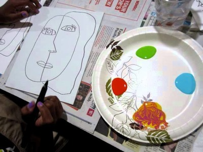 Picasso in Me children's art class with Mia