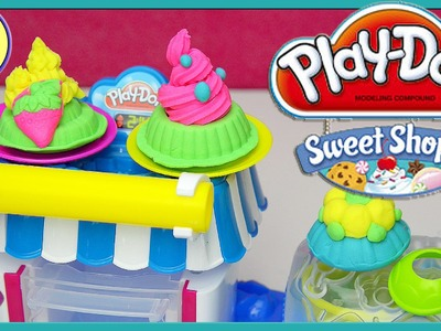 Play Doh Sweet Shoppe Double Desserts Playset Silly Play - Kids Toys