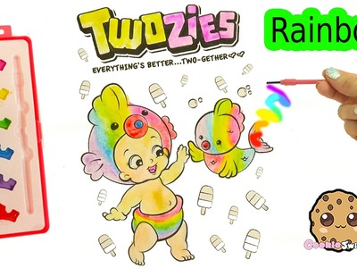 Rainbow Water Color Painting Twozies Baby With Disney Princess Watercolor Art Set