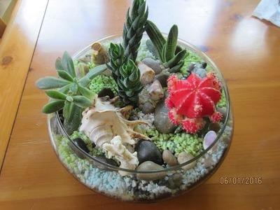 Terrarium: Inexpensive & Easy To Make Gift