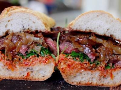 The Perfect Steak Sandwich Recipe