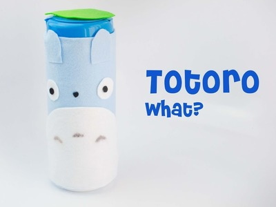 Totoro DIY.  guess what I made! comment before watching