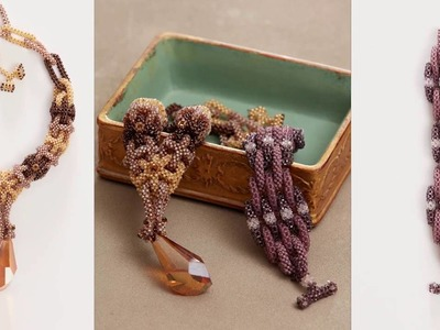 Beadweaving 1 with Huib Petersen: Cubic and Prismatic Right-Angle Weave