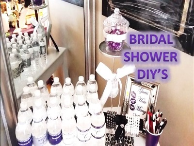 Bridal Shower Dollar Tree DIY's and Setup Event