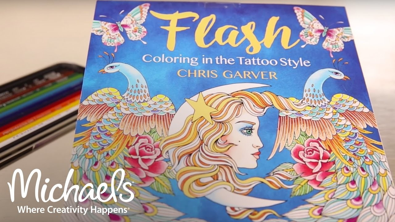 Chris Garver: Coloring in the Tattoo Style | Michaels