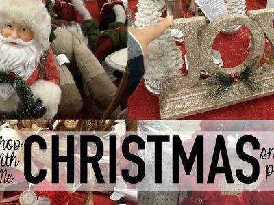 Christmas Home Decor | Shop With Me | TJMaxx + Wal-Mart | Christmas 2016