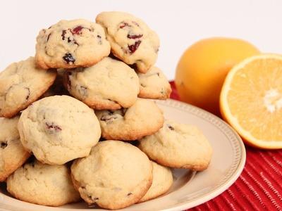 Cranberry Orange Cookies Recipe - Laura Vitale - Laura in the Kitchen Episode 859