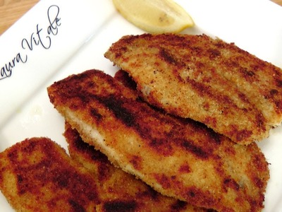 Crispy Tilapia Cutlets - Recipe by Laura Vitale - Laura in the Kitchen Episode 154