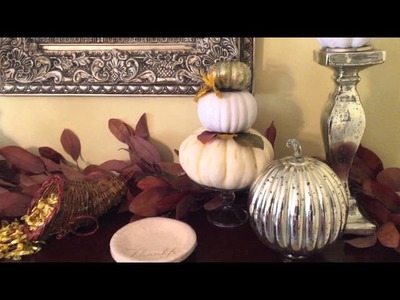 Fall Home Tour ~ by The Frugalnista!