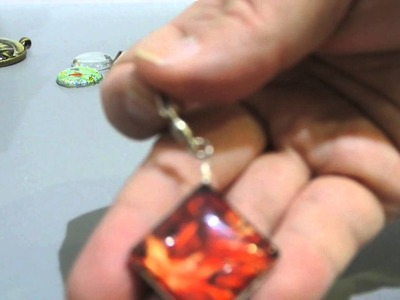 Glass Cabochon Spinner Tutorial