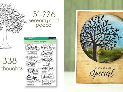 Grungy Watercolor Backgrounds with Creative Dies