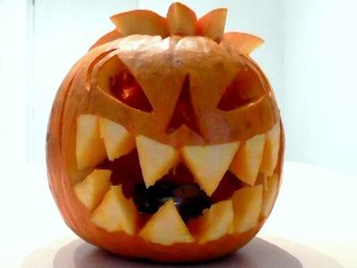 Halloween Pumpkin How to Carve Pumpkins scary