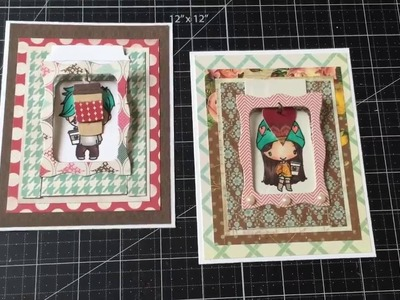 Hanging Charm Pull Tab Cards