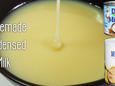 Homemade Condensed Milk Recipe - Basic Recipes | Made using Milk