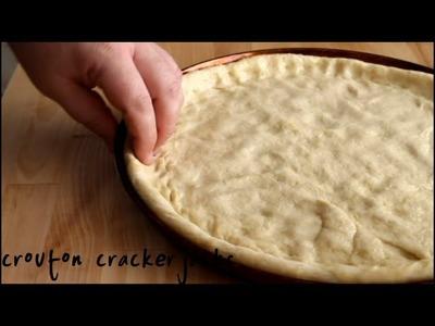 Homemade Pizza Crust (Dough) from Scratch - Easy Recipe