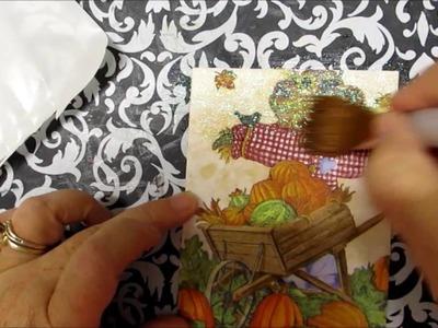 How I Make Napkin Cards