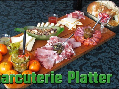 How To Make A CHARCUTERIE PLATTER - Day16,586