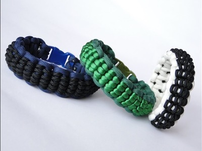 How to Make a Cobra Scales Pattern Paracord Survival Bracelet