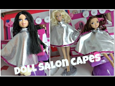 How to Make a Doll Salon Cape - Ever After High - Barbie- Doll Crats