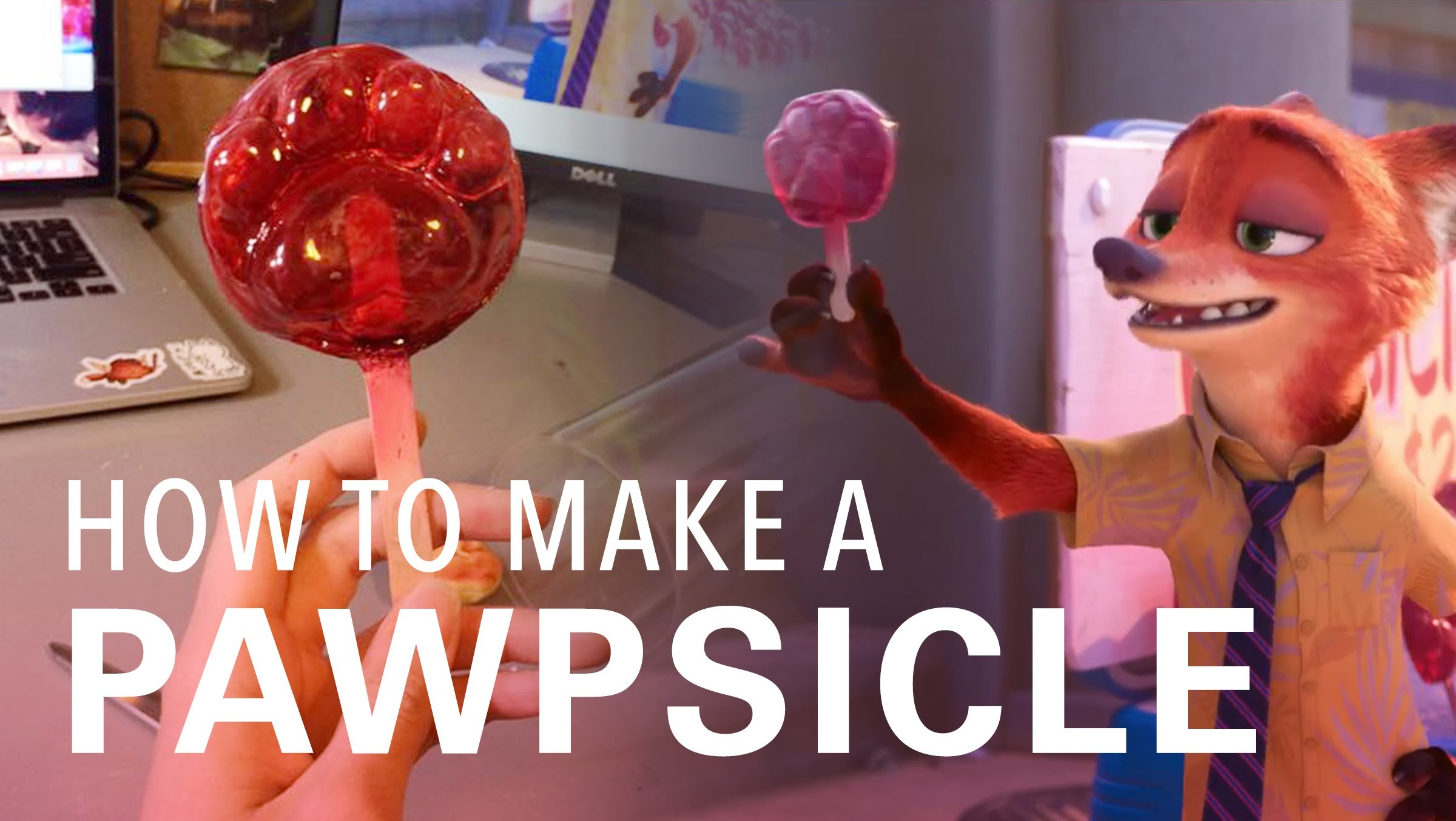 How to make a Pawpsicle from Zootopia