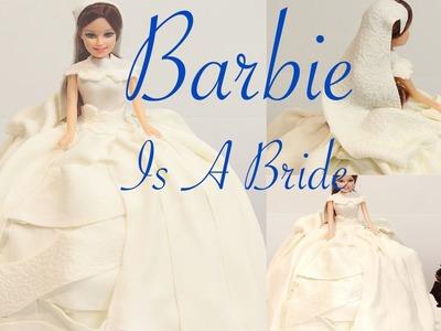 How to make a PRINCESS CAKE! SIMPLE WEDDING DRESS TUTORIAL | Its A Piece Of Cake