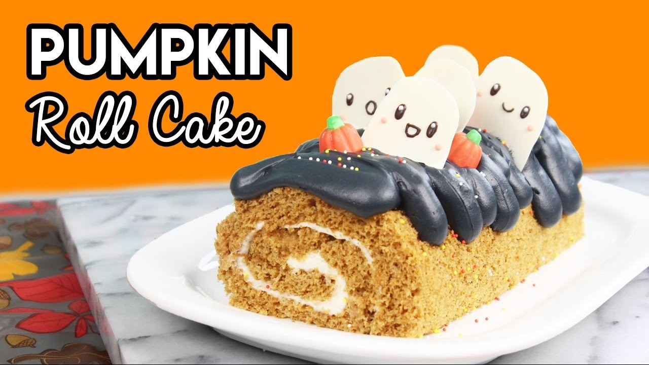 How to Make a Pumpkin Spice Roll Cake!